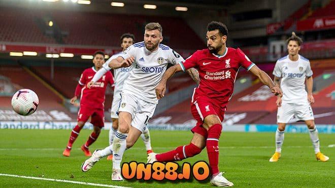 Soi kèo châu Âu trận đấu Leeds vs Liverpool