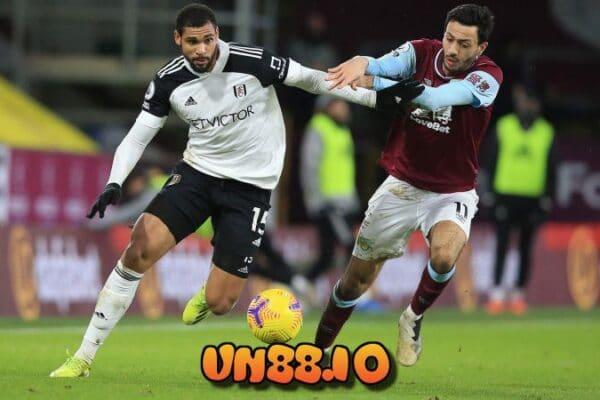 Tỷ lệ kèo trận Fulham vs Burnley.
