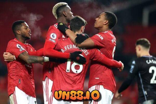 Ấn định tỷ lệ soi kèo bóng đá Aston Villa vs Manchester United